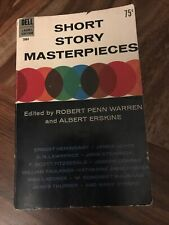 SHORT STORY MASTERPIECES Dell Laurel Edition 1964 6th Printing