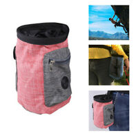 Rock Climbing Chalk Bag Magnesium Powder Pouch Outdoor Sport Non-slip Waist Bag