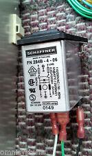 Schaffner FN284B-4-06 AC Power Input EMI Filter Module - Fits BarTop Arcade