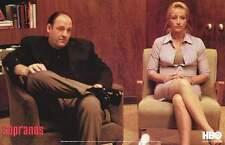 The Sopranos Poster fea. James Gandolfini and Edie Falco Print, 24x36
