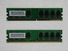 2GB  2x1GB PC2-6400 Mem for Dell Inspiron 518 519 530 531 DDR2