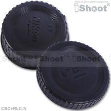 iShoot Protector Body Cover+Rear Cap for Nikon FX DX DSLR Camera&LensABS+PC