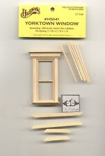 Half Scale Window - Yorktown - 1:24 Dollhouse wooden H5041 Houseworks G Scale
