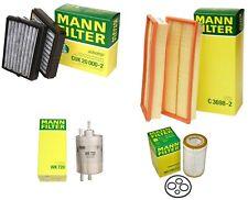 Mann Oil Air Carbon Cabin Fuel Filter Kit for Benz W203 C209 C230 C240 C320 CLK5