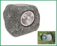 2 Pz. ** Lampada solare segnapassaggio ** 2 fari solare in simil pietra by HSH