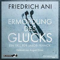 AUGUST ZIRNER - FRIEDRICH ANI: ERMORDUNG DES GLÜCKS  5 CD NEW