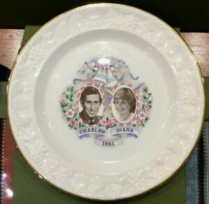 Ringtons The Royal Wedding Charles & Diana 1981 Plate