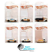 Hot Wheels 2020 Pearl & Chrome Set of 6 Cars Emergent Chanel Exclusive