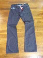 Express Stella Womens Boot-cut Jeans NEW Size 4 Dark Wash Jeweled S58