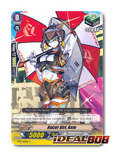 Cardfight Vanguard  x 4 Raizer Girl, Kate - BT17/100EN - C Pack Fresh Mint