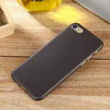 iPhone 8 Slim Back Hard Case. Matte Black Anti Scratch Protective Shell Cover