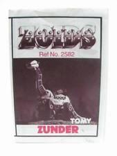 Zoids Zoid Vintage OER Instruction Sheet Fiche Zunder Original