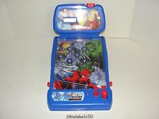 Marvel Heroes Electronic Pinball Game 2009 MMTL Spiderman Wolverine Hulk TESTED