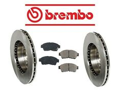 Fits Corolla 1992-1996 Front Left & Right Disc Rotors & Pads Brake KIT Brembo