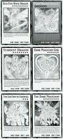 Yu-Gi-Oh! Dual Overload Lot of 6 Jumbo Oversize Box Topper Promo Set