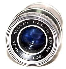 Isco-Gottingen Isconar 1: 4.5/100 Screw Mount Lens