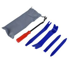 DEDC Auto Upholstery Tools 5Pcs Auto Trim Removal Tool Kit Clip Fastener Remover