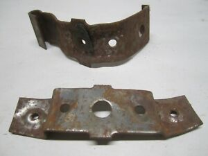 59 60 Cadillac deville drivers side lower trim mounting brackets