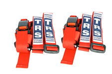 PAIR OF RED TRS Seat Belts - Ideal for Kit, Race, Rally, Sports Cars - INT0033