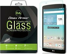 2X Dmax Armor Tempered Glass Screen Protector for LG G Pad X 8.0 G Pad III 8.0
