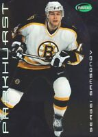 2001-02 Parkhurst Silver Parallel Hockey Cards Pick From List