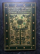 Rubaiyat of Omar Khayyam Edward Fitzgerald Willy Pogany Leather Fine Binding