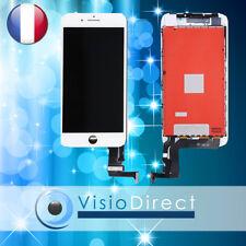 Ecran complet pour iPhone 8 Plus blanc vitre tactile + ecran LCD sur chassis