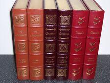 easton press JAMES MICHENER The Covenant, Centennial, Chesapeake in 6 vols