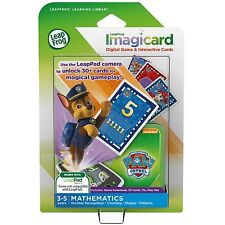 LeapFrog ImagiCard PAW Patrol Learning Software Game - LeapPad 2 3 Epic Platinum