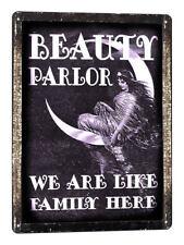 BEAUTY SHOP MANICURE METAL SIGN  nail salon Hair stylist vintage style art 697