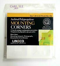 Lineco - Self - Adhesive Polypropylene Mounting Corners One  Pk of 256