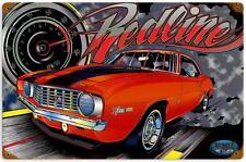 Hot Rod Drag Race Z28 Muscle Car Metal Sign Man Cave Garage Body Shop MNI009