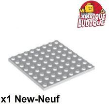 Lego - 1x Plaque Plate 8x8 blanc/white 41539 NEUF