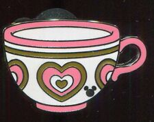 DLR 2015 Hidden Mickey Mad Tea Party Cups Pink Disney Pin 112041