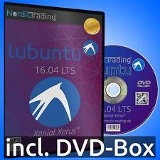 Lubuntu 16.04 LTS 32bit DVD Linux Betriebssystem Markenware