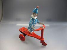 Clown auf Dreirad , Blech    (SSK15)