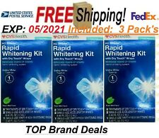 CVS HD Xtreme Rapid Whitening Kit Removes Years of Stains 1-hr (Pack of 3)