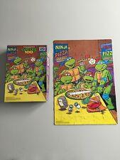 1990~Teenage Mutant Ninja Turtles~Ninja Pizza~100 Pc. Puzzle~TMNT~Complete