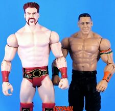 Used Sheamus John Cena Lot WWE Mattel Basic Series Wrestling Action Figures_s71
