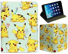 Per Apple iPad 2 3 4 GRANDE POKEMON GO PIKACHU Fun kids cartoon STAND CASE COVER