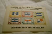 Guatemala-(-1938-)-Philatelic Exhibition-LOT of 2-(TWO) Souvenir Sheets-MNH