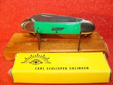 GERMAN EYE--CARL SCHLIEPER--GERMANY 1980S--CANOE--TENNESSEE--GREEN DELRIN