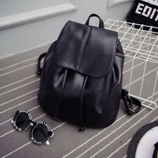 Womens PU Leather Backpack Mini Back Pack Travel Shoulder School Bag Rucksack