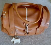Radley Medium Tan Grab Handbag 3 Sectioned Tote Bag
