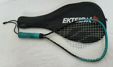 Ektelon Dynax Racquetball Racquet Aqua Blue/Black Super Sm With Cover
