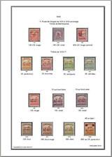 Album de timbres Hongrie-Arad 1919 à imprimer
