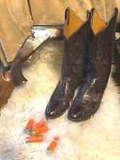 Western boots, Lucchese, Exotic Kangaroo leather, 8.5 B women's