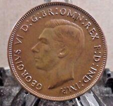 CIRCULATED 1943 1 PENNY AUSTRALIAN COIN (020917)#1