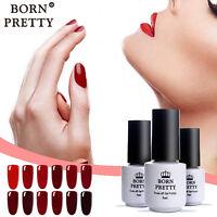 BORN PRETTY 5ml Nail Art UV Gel Polish Soak Off UV Glue Red Series