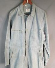 Vintage 1950s Lee 'Union Alls' Herringbone Twill Coveralls Workwear Denim Big!
